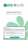 Safeguarding policy front cover